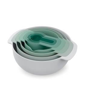 Set Bowls 9 Piezas Nest Salvia Joseph Joseph