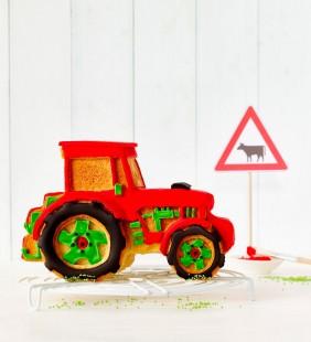 Molde Tractor 3D Silicona Birkmann