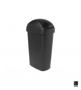 Basurero Flippa Negro 30 Lt Umbra