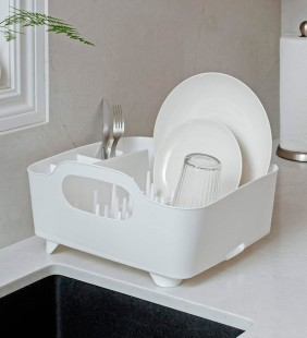Secaplatos Tub White Umbra