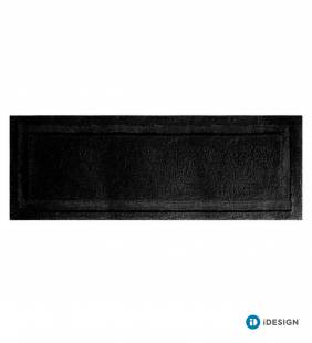 Piso Spa XL Micro Black 152 X 53 Cm Interdesign