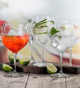 Set 4 Copas Cristal Gin Spiegelau