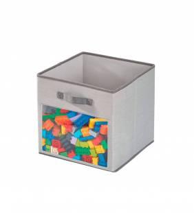 Canasto Organizador Cube Emmy Gris S Interdesign