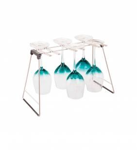 Rack Secador Copas Silver Interdesign