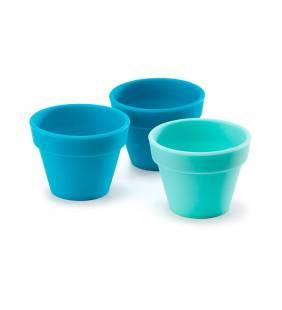 Set 3 Pocillos Azules Multiuso Fusion Brands